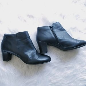 Hush Puppies Black Ankle Boots